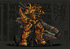 WMD N250X Panzerjaeger by Aditya Permadi, via Behance