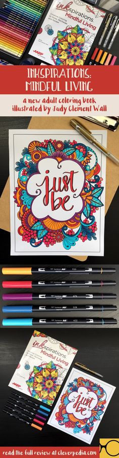 This Adult Coloring Book Will Help You Relax And Become More Mindful Year Inkspirations
