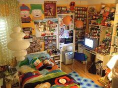 Intense South Park room