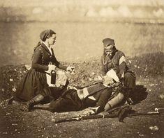 Le Zouave blessé. Crimée, le 29 février 1855.