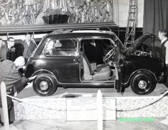 The very first Radford Mini Magnifique , 1963 London motor show