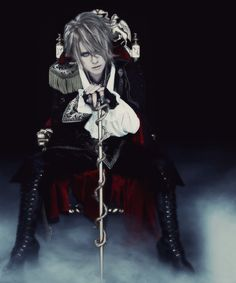 I don't know who yet but I feel like this is someone. [kamijo Versailles Philharmonic Quintet]