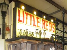 Little Red's is a favorite antiquing destination in Forney, Texas, where you're sure to find something special to spice up your space!