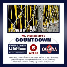 Muscle Foods USA counts down to the 2014 Olympia Weekend at week eight with Universal Nutrition. Since Universal Nutrition has been a leading bodybuilding and sports nutrition manufacturer dedicated… read more → Soy Milk Nutrition, Nutrition Food List, Nutrition Action, Universal Nutrition, Nutrition Program, Sports Nutrition, Ground Turkey Nutrition, Muscle Food