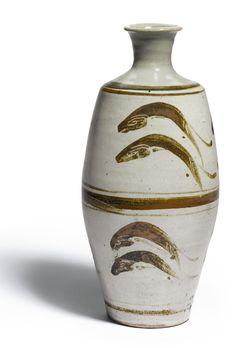 leach bernard vase with'leaping fish | other | sotheby's l16142lot6nrsxen