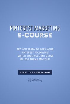Are you ready to rock your Pinterest following? Watch your account grow in less than 4 months. http://envizionadvertising.com/online-pinterest-marketing-course/#utm_sguid=134760,daef3e66-e082-e915-6375-ad0d78fff00b