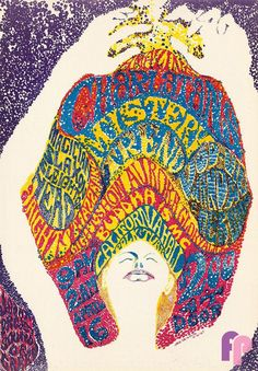 California Hall .... 4/16/1967 .... Charlatans .... Mystery Train ....  artist .... JACK DeGOVIA