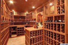 4325 Woodleigh Lane, La Canada-Wine Room
