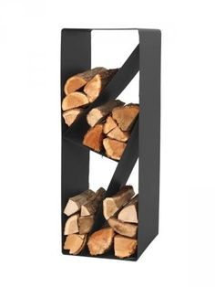 These indoor firewood storage ideas will help you pick the perfect rack for your firewood, keeping your home beautiful without leaving you broke. Indoor Firewood Rack, Firewood Holder, Firewood Storage, Cabin Fireplace, Stove Fireplace, Recycled Trampoline, Fire Pit Grill, Log Holder, Wood Store