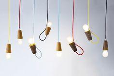 Suspension LED en li�ge SININHO by Galula design Mendes'Macedo