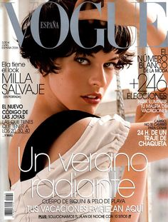 Milla Jovovich   Photography by Tesh . Vogue Spain June 2006
