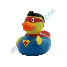 Colección #Patos de #goma #Multididacitos   Pato de goma #superman. #PatosdeGoma #juguetes