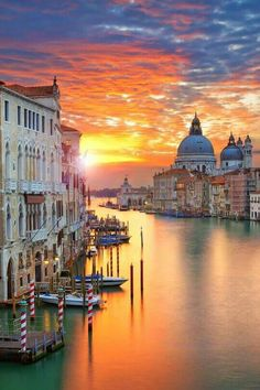 Venice sunrise By Rudolf Balasko