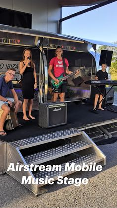 Event Marketing, Mobile Marketing, Airstream Trailers, Stage Lighting, Cool Bands, Ibiza, Gym, Concert, Music