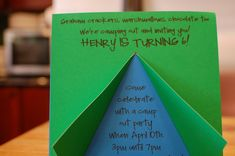 camping birthday party | We had a family party the morning of Henrys birthday with a SUPER ...