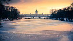 Schloss Charlottenburg in winter