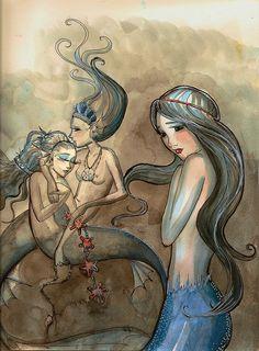 Mermaids. (by Courtney Thomas)