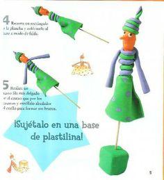 Títeres de plastilina