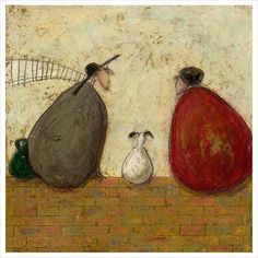 Sam Toft - More Than Words Can Say - limited edition print