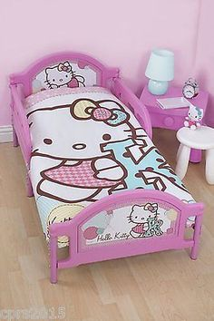 Hello #kitty stitch #junior panel duvet set #suitable for #junior/cot bed,  View more on the LINK: 	http://www.zeppy.io/product/gb/2/401102819984/