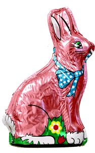Easter isn't complete w/out a chocolate bunny!!!