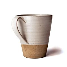 Farmhouse Pottery Tall Stoneware Silo Mug Pottery Supplies, Pottery Classes, Pottery Designs, Mug Designs, Pottery Ideas, Pottery Mugs, Ceramic Pottery, Ceramic Cups, Ceramic Art