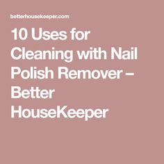 Nail Polish Remover And Paint Thinner - Creative Touch