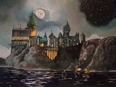 Hogwarts Castle  by Tim Loughner