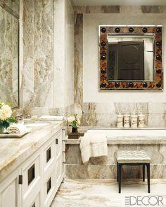 Mix and Chic:  luxury bathroom