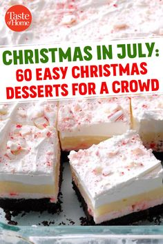 Easy Strawberry Desserts, Cool Whip Desserts, Desserts For A Crowd, Easy No Bake Desserts, Diabetic Desserts, New Dessert Recipe, Summer Dessert Recipes, Dessert Cake Recipes, Potluck Recipes