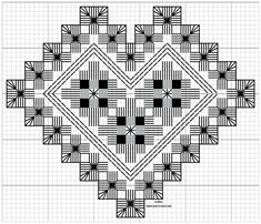 Hardangersøm – Vevstua Bull-Sveen Hardanger Embroidery, Embroidery Stitches, Embroidery Patterns, Hand Embroidery, Cross Stitches, Types Of Embroidery, Learn Embroidery, Bookmark Craft, Drawn Thread
