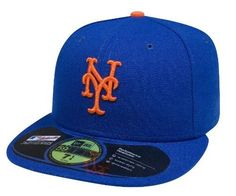 MLB New York Mets Authentic On Field Game 59FIFTY Cap, Royal Blue, 8 1/8 by New Era. $28.32. Officially licensed by Major League Baseball. Cool Base technology wicks moisture away from the head. Embroidered Team logo with American flag background outlined in white. 100% Polyester fitted Authentic Baseball Cap as worn by all players on the field. Made in the USA. This Authentic Collection 59FIFTY is the official on-field cap of Major League Baseball and is worn by eve...