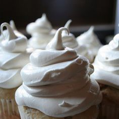 A quick and easy Marshmallow Frosting recipe that is delicious! Great for S'mores without the campfire or a peanut butter and marshmallow sandwich.