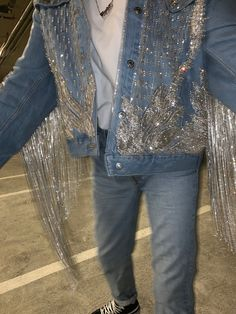 Crystalized Denim Jacket 2019 You Are Adorned Crystalized Denim Jacket by CheyenneKimora The post Crystalized Denim Jacket 2019 appeared first on Denim Diy. Light Wash Denim Jacket, Cropped Denim Jacket, Denim Overalls, Denim Jackets, Cropped Top, Denim Fashion, Fashion Outfits, Fashion Boots, All Jeans