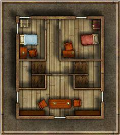 Foxglove Townhouse Second Floor | by sixlitrealarmclock