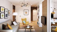 ystrój wnętrz, wnętrza, urządzanie mieszkania, dom, home decor, dekoracje, aranżacje, styl skandynawski, scandinavian style, ciepłe kolory, salon, pokój dzienny, living room