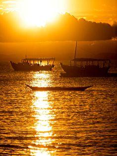 Pôr-do-sol em Barra Grande - BA