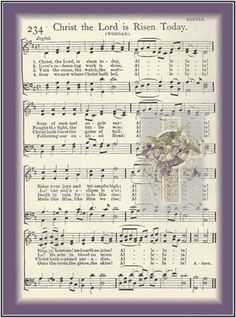 Little Birdie Blessings : He is Risen! He is Risen Indeed! is risen easter Easter Hymns, Christian Song Lyrics, Christian Music, Christian Quotes, He Is Risen Indeed, Music Crafts, Music Decor, Bible Crafts, Kids Crafts