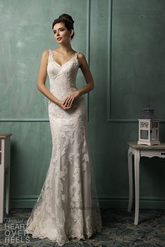Amelia Sposa 2014 vestido de novia de estilo Fiora