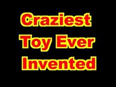 This video shows you the craziest toy ever invented in the Enjoy! Epic Fail Pictures, Funny Pictures, Crazy Toys, Picture Fails, Kids Videos, Picture Collection, Viral Videos, Inventions, Neon Signs