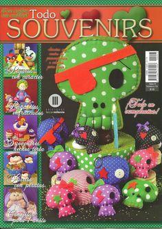 Revistas de manualidades gratis: como hacer souvenirs piratas