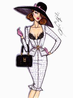 Hayden Williams Fashion Illustrations | ... Hayden Williams - Blog Post on Haute - A Toronto Fashion & Lifestyle