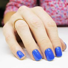 A Brilliant Bright Blue Evo Gel. She's French royalty. Her blue hue signifies perfection, light and life Bio Sculpture Gel Nails, French Royalty, Light Of Life, Season Colors, Nail Inspo, Evo, Nails Inspiration, Canada, Collections