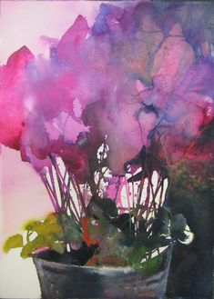 Blumen - Elke Memmler watercolor