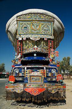 Mighty Pakistani Truck