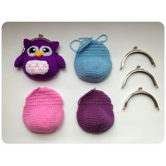♥ ♥ Owl family coming soon ♥ ♥ made by sweetcrochet.nl.