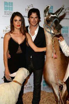 Nikki and Ian Somerhalder at Heifer International #BeyondHunger Gala Event