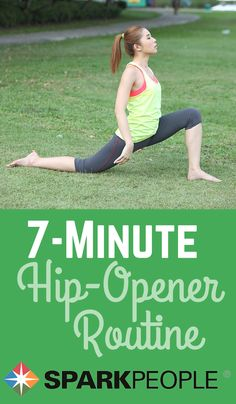 7-Minute Hip-Opener Routine Video via @SparkPeople