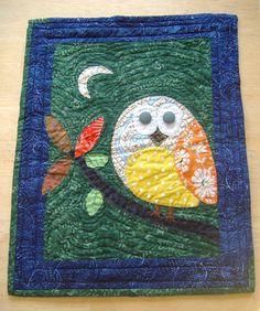 owl quilt  @Lisa Phillips-Barton Phillips-Barton Phillips-Barton-Denise Mason