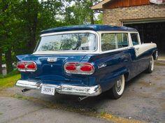 1958 Ford Custom 300 Ranch Wagon.